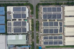 Solar energy Long An Vietnam
